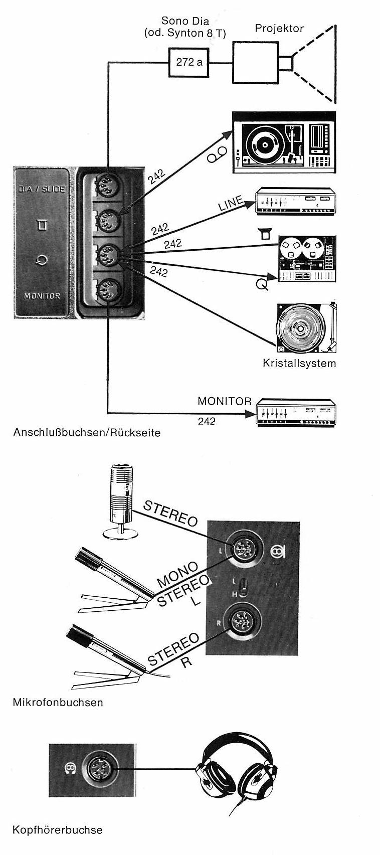 TS1000 - schema collegamenti