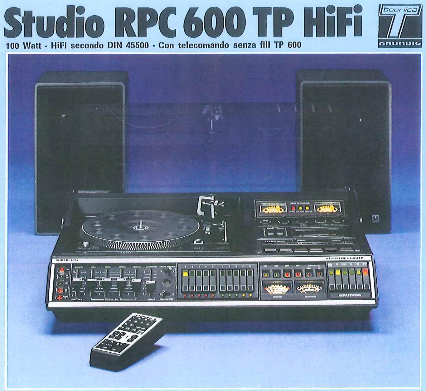 Grundig RPC 600 TP