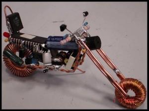 la moto di Marco