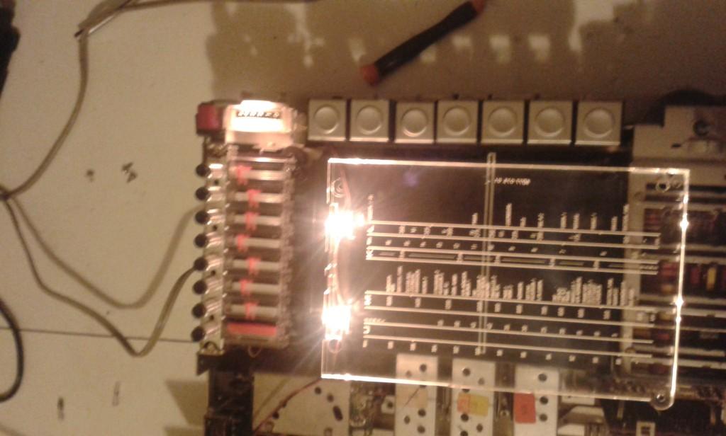 23 lampada misuratore campo cambiata