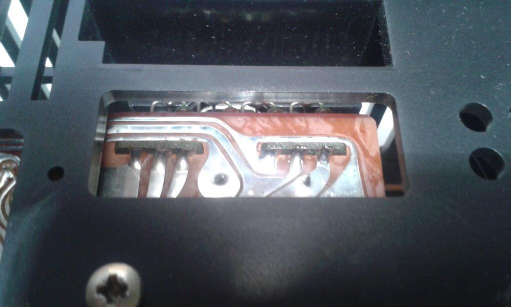 29 saldature lato circuito stampato prese aktiv