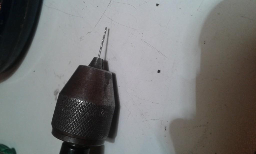49 trapano con punta 1mm