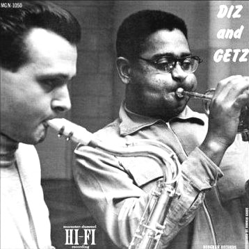 Stan Getz e Dizzy Gillespie