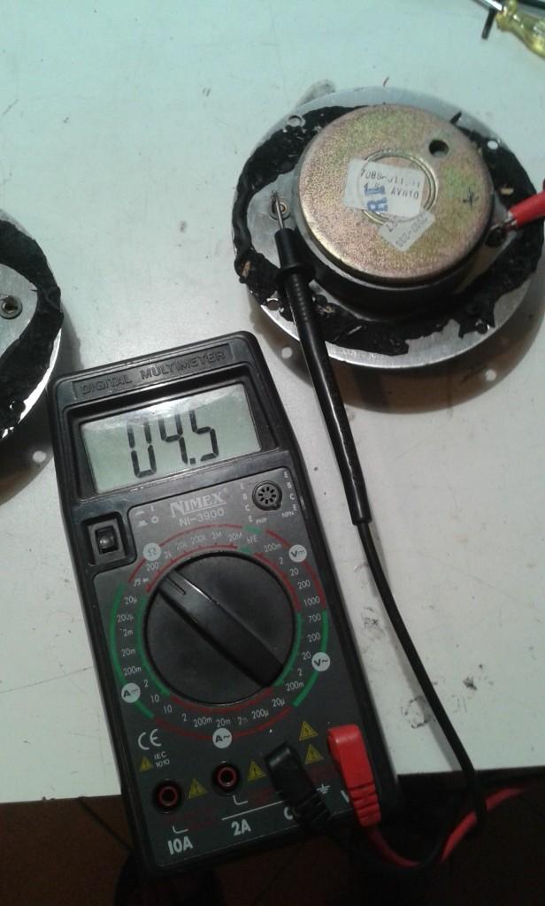 misura tweeter dx