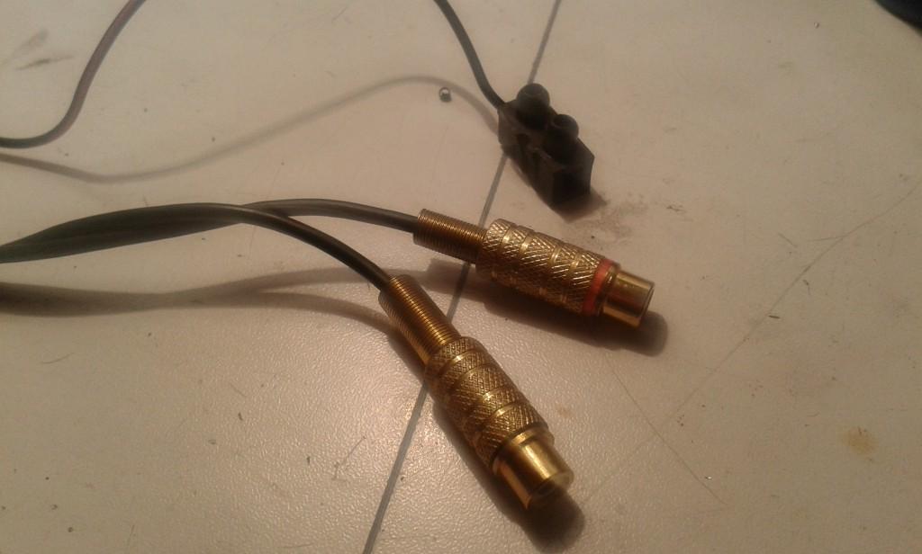 cavo phono completo lato RCA con mammuth