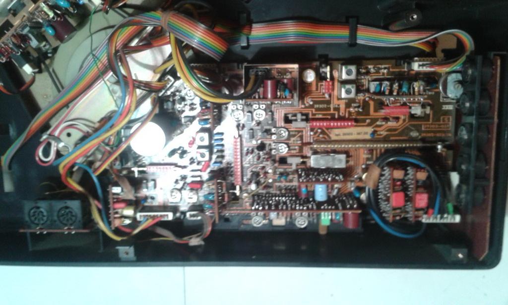 Rimozione circuito stampato audio