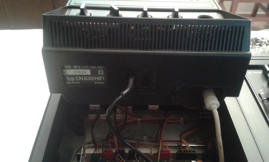 rimozione piastra CN 830 5