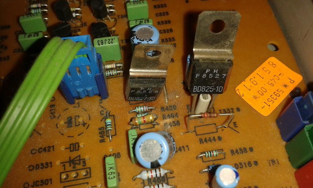 transistor staccato