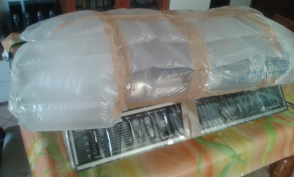 imballaggio cover plexiglass