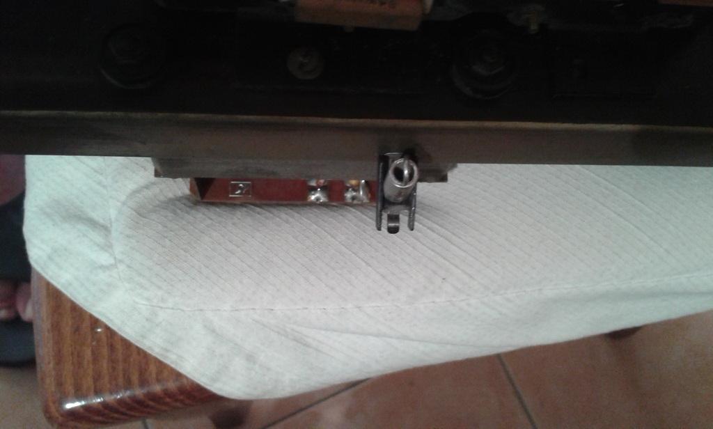 fissaggio blocco plexiglass su meccanica