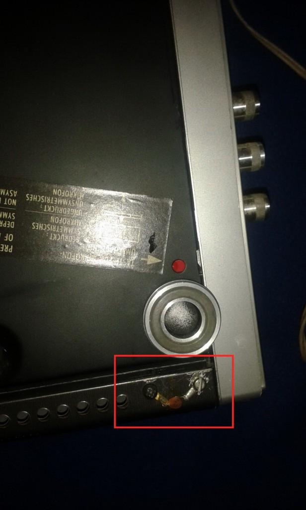 condensatore chassis