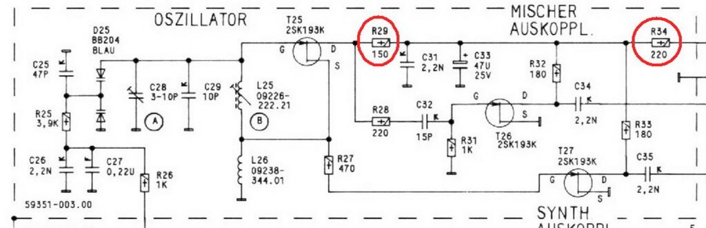 oscillatore R30