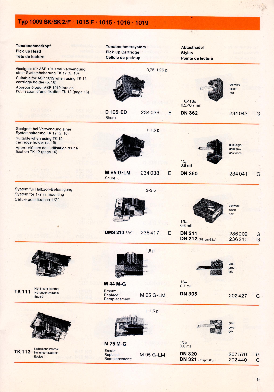 Clicca per ingrandire: DUAL ACCESSORI 1977 09 PER 1019