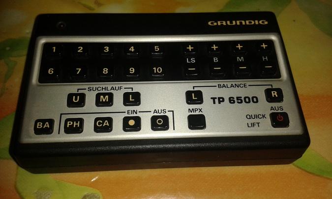 telecomando 650 TP