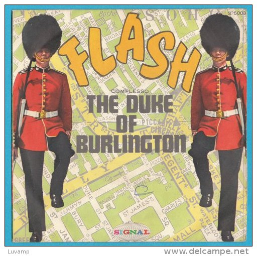 COPERTINA FLASH THE DUKE OF BURLINGTON