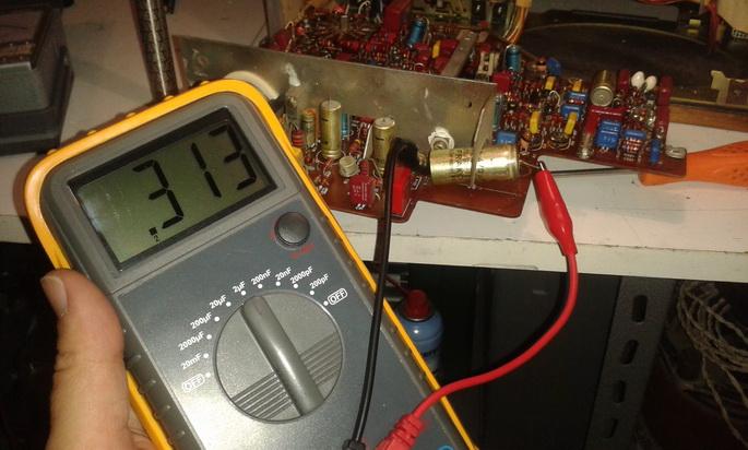 condensatore test