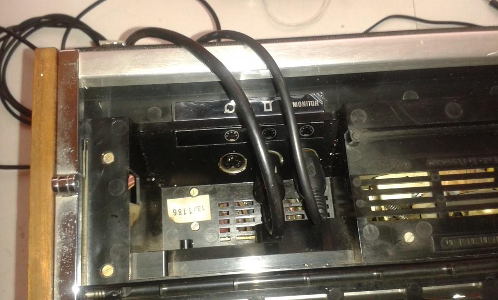 presa in/out e presa monitor