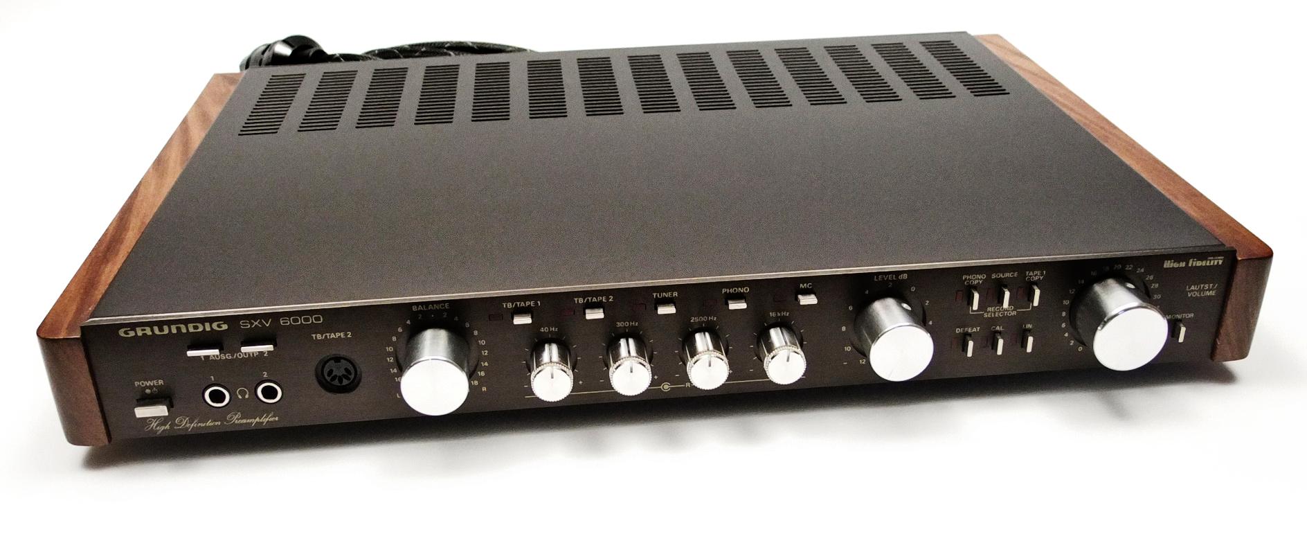 Grundig sxv6000 Upgrade by Audio Oasi