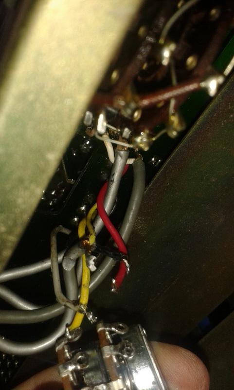 cablaggio potenziometro volume 2