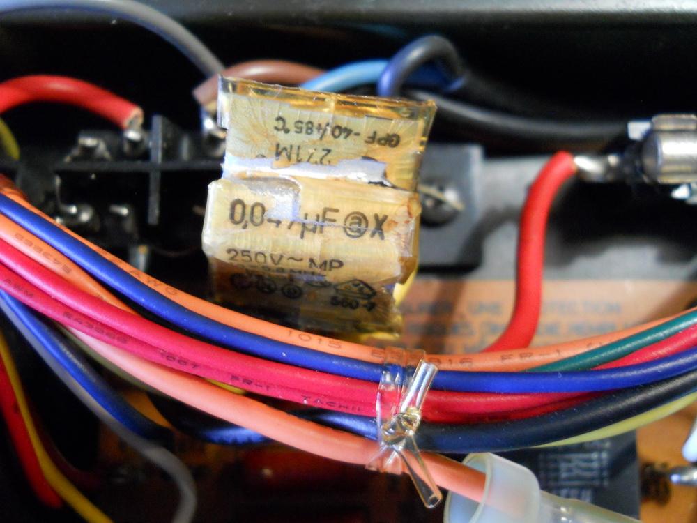 condensatore filtro